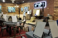Brushes & Crushes Guided Painting Wine Social