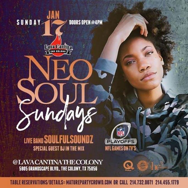 NEO SOUL SUNDAYS feat SoulfulSoundz