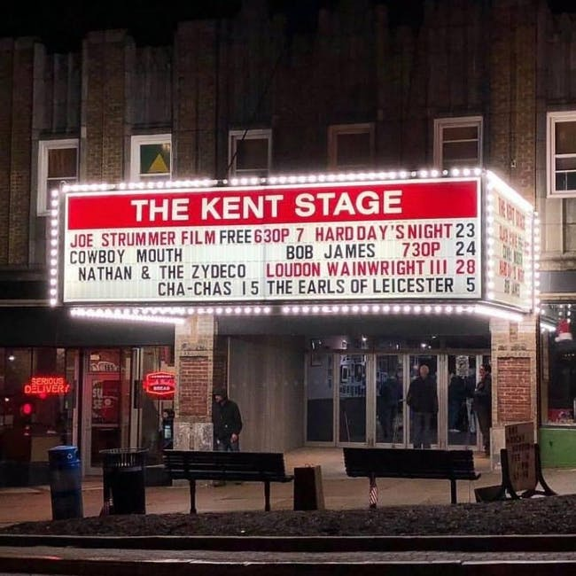 Gift Certificate For The Kent Stage