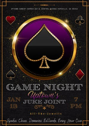 Game Night at Uptown's Juke Joint