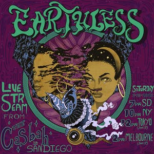 Earthless - Live Stream for Casbah 32 Year Anniversary