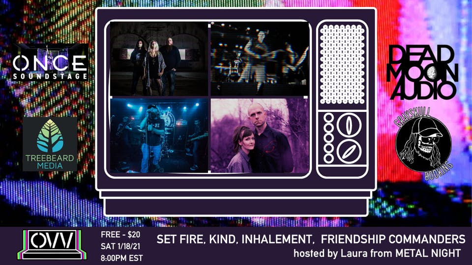 Set Fire, KIND, Inhalement, Friendship Commanders x OVV