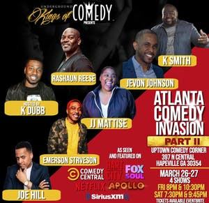 Atlanta Comedy Invasion Part II