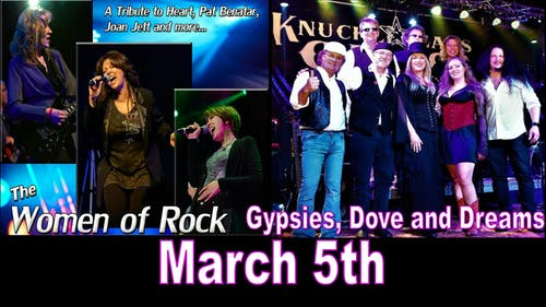 Gypsies Doves & Dreams and Women of Rock
