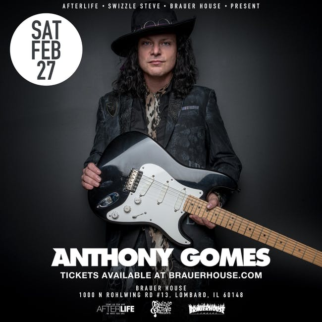 Anthony Gomes Live at Brauer House