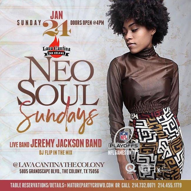 NEO SOUL SUNDAYS feat The Jeremy Jackson Band