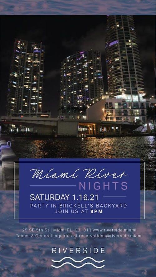 Riverside Miami Saturday 1/16