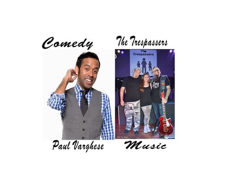 Best Medicine Laughter & Music Showcase w/ Paul Varghese & The Trespassers