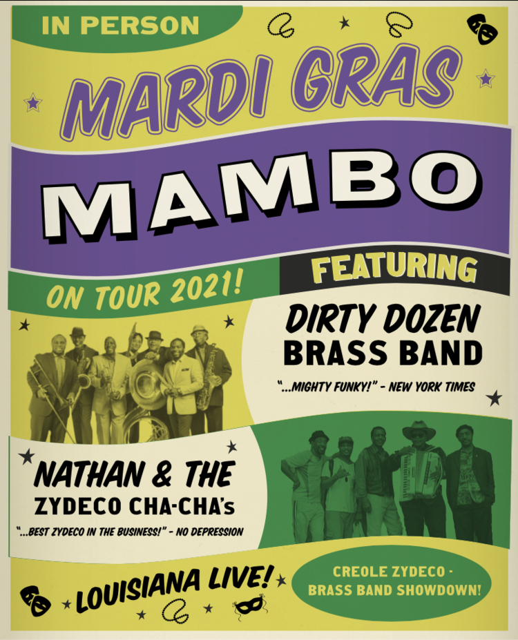 Mardi Gras Mamba moved to March 26, 2022