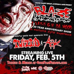 Blaze Ya Dead Homie: 1 Less G In Da Hood 20 Year Anniversary - Livestream