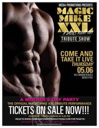 MAGIC MIKE XXL: Tribute Show - A Ladies' Night Out!