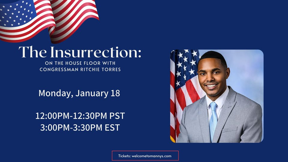 The Insurrection: On the House Floor w/ Congress Member Ritchie Torres
