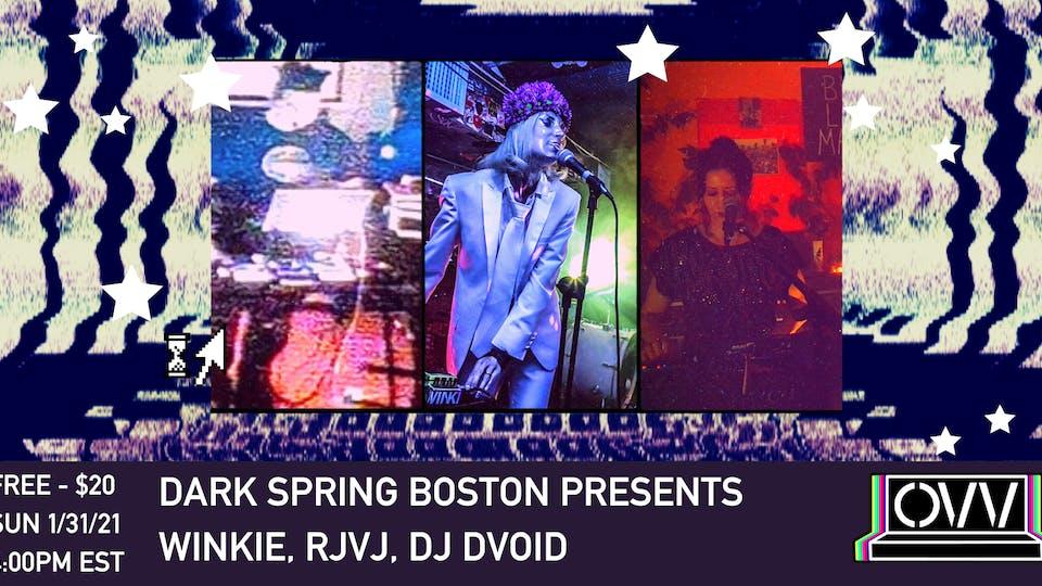 DSB presents Winkie, RjVj, DJ Dvoid x OVV