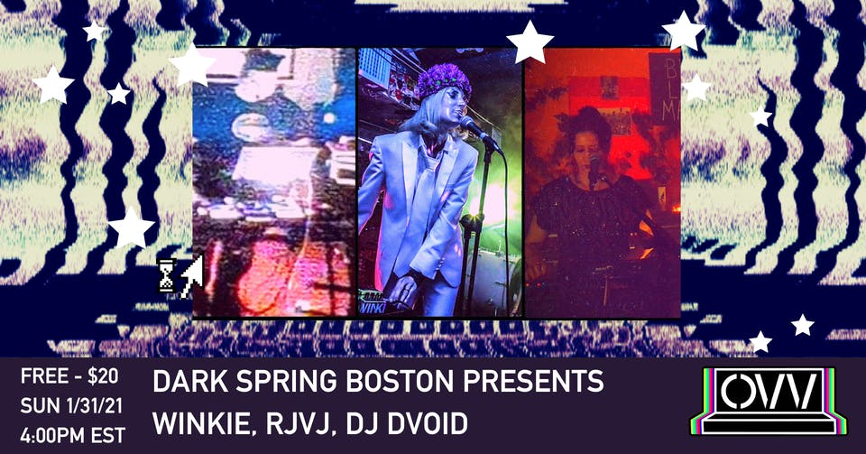 DSB presents Winkie, RjVj, DJ Dvoid x OVV