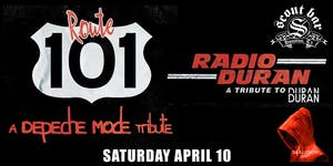 Route 101- a tribute to Depeche Mode & Radio Duran-a tribute to Duran Duran
