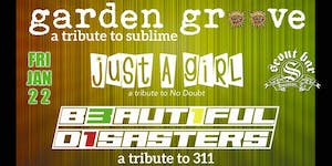 Garden Groove - a tribute to Sublime & Beautiful Disasters - 311 tribute