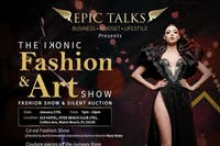 The Ikonic Fashion & Art Show at Hyde Beach Club 1/26