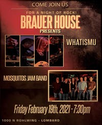 WHATISMU & Mosquitos Jam band In The Afterlife Music Hall at B House