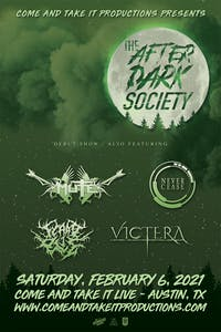 THE AFTER DARK SOCIETY - Debut Show