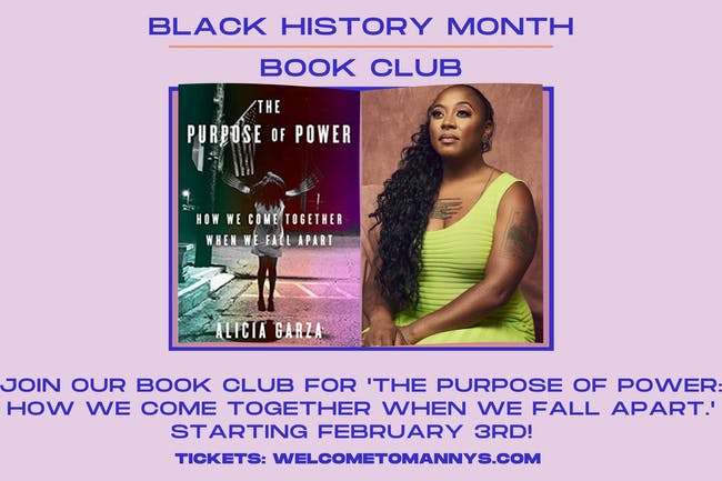 Black History Month: 'The Purpose of Power' Book Club - All Meetings!
