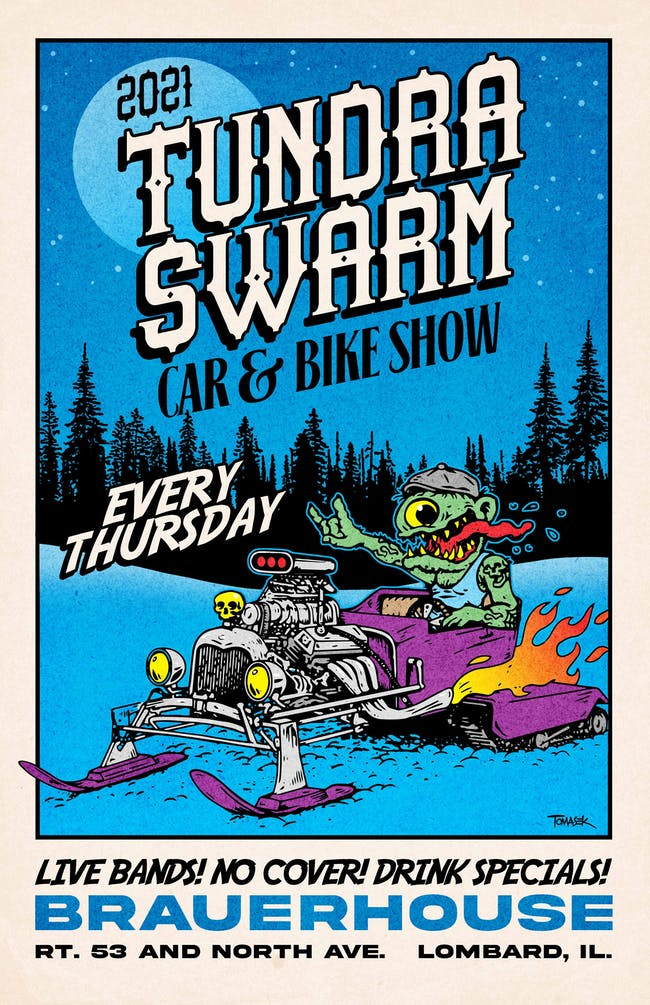 Tundra Swarm Car & Motorcycle Show W/ High Stakes Band