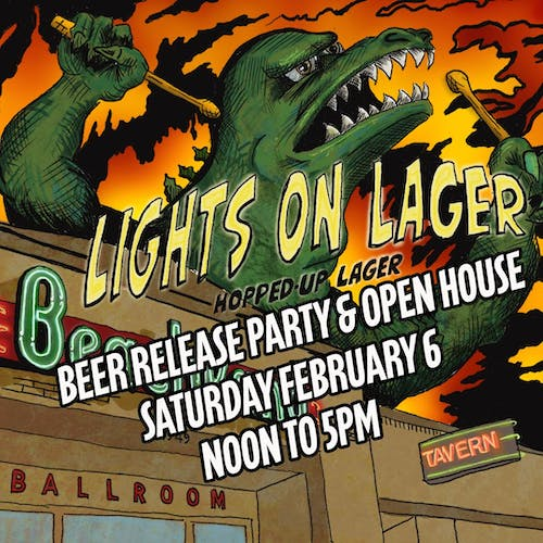 Beachland Lights On Lager Beer Release & Open House