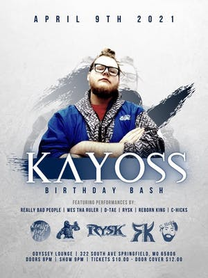 KAYOSS BIRTHDAY BASH @ Odyssey Lounge