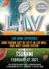 SUPER BOWL LV WATCH PARTY- 20ft X 20ft LED WALL + 100k Watt Sound System