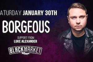 Borgeous at Black Market Miami 1/30