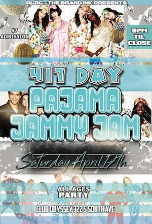 417 Day - Pajama Jammy Jam