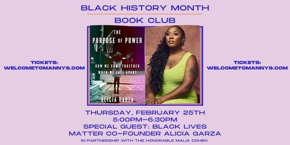Black Lives Matter Co-Founder Alicia Garza:  The Purpose of Power
