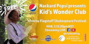 Kid's Wonder Club | A Celebration of Black Poets with Flag Shakespeare Fest