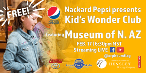 Kid's Wonder Club | Archeology Awareness Month with Museum of N. AZ
