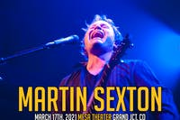 Martin Sexton at Mesa Theater