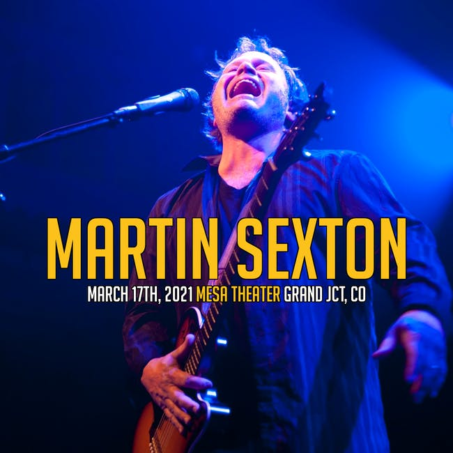 Martin Sexton at Mesa Theater