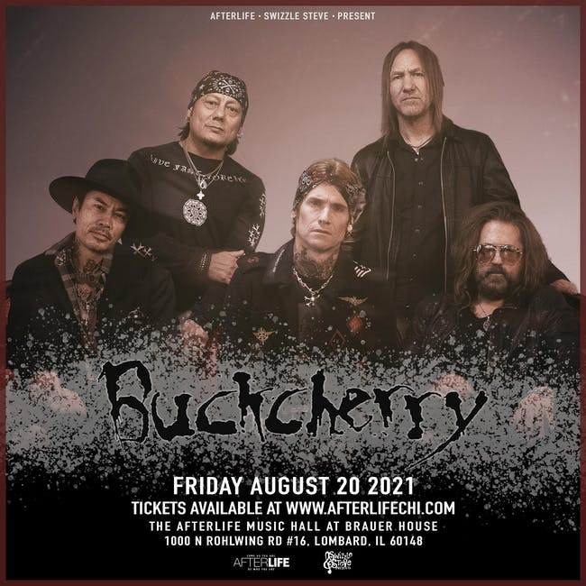 Buckcherry Live in the Afterlife Music Hall