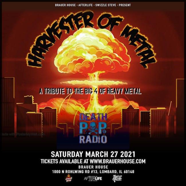 Harvester of Metal & Death Pop Radio Live at Brauer House!!