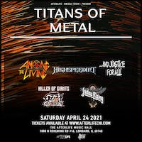 The Titans of Metal in The Afterlife Music Hall