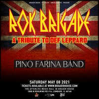 Rok Brigade - A Tribute to Def Leppard in The Afterlife Music Hall