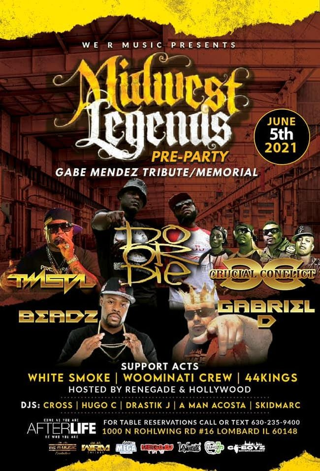 Twista, Do or Die, Crucial Conflict, Beadz Live in The Afterlife Music Hall