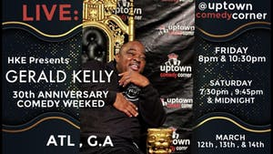 Comedian Gerald Kelly's 30th Anniversary Comedy Weekend