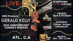 The Late Show w/ Comedian Gerald Kelly's 30th Anniversary Comedy Weekend