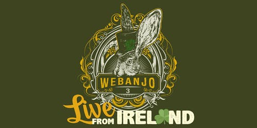 "LIVE STREAM: We Banjo 3 ""Live From Ireland"""