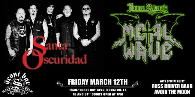Santa Oscuridad and Metalwave with special guests