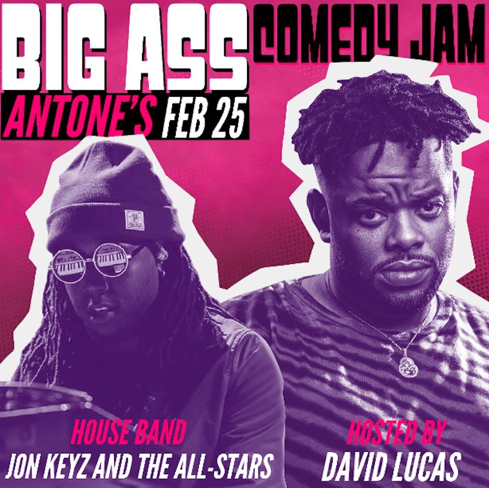 David Lucas - The Big Ass Comedy Jam