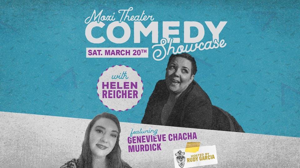 Moxi Stand-Up Comedy Showcase: Helen Reicher, Genevieve Chacha Murdick