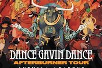 DANCE GAVIN DANCE - AFTERBURNER TOUR - NIGHT 1