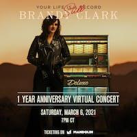 BRANDY CLARK - 'Your Life is Still A Record Virtual Concert' *Livestream*
