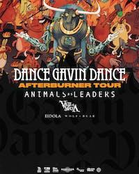 DANCE GAVIN DANCE - AFTERBURNER TOUR - NIGHT 2