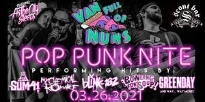 """Pop Punk Nite: Houston, TX! By: Van Full of Nuns"""
